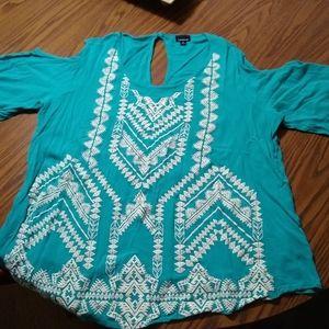 Torrid size 2 cold shoulder shirt